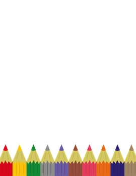 Art Writing Paper - Kinder Lined, 1-6 Lined, Blank - 3 Styles