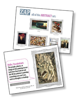 Art Zap: Figurative or Abstract?