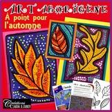 Art aborigène: À point pour l'automne
