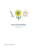 Art and Craft Activities - PreschoolToolkit.com - Jan 2020