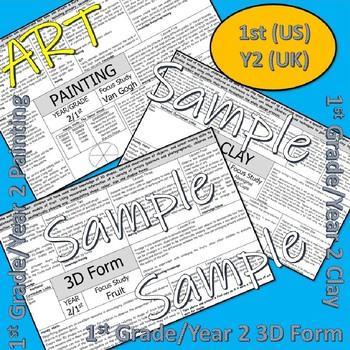 Art and Design Scheme 1st Grade US/Year 2 UK