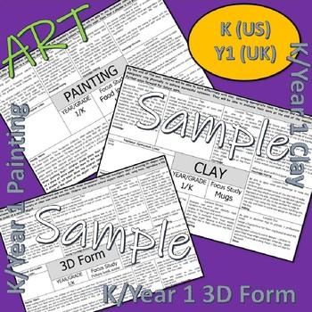 Art and Design Scheme for K/Y1
