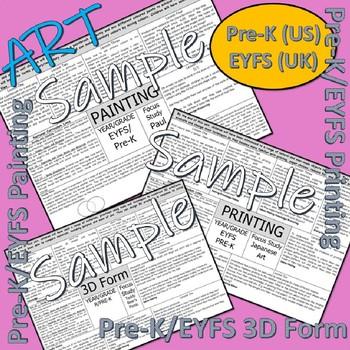 Art and Design Scheme for PreK/EYFS learners