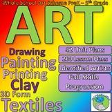 Art and Design Scheme for learning - a whole school approach
