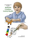 Art and Discovery Bundle – Backyard Creatures – Activities