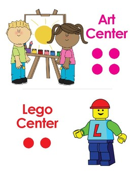 Art and Lego Center Sign
