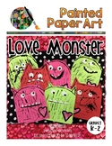 Valentine's Day: Love Monsters Directed Drawing: Art and L