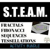 Fibonacci Sequence, Tessellations and Fractals - 3 Math En