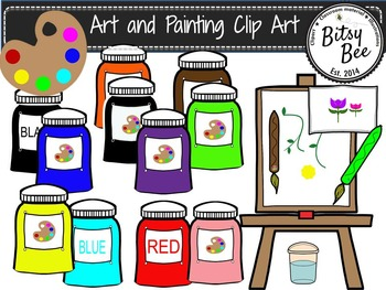 Art and Painting Clip Art