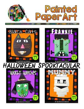 Art Activities: Halloween Spooktacular Creatures