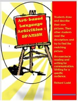 Art based language activities SPANISH