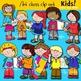 Art class clip art  BUNDLE- 145 items!