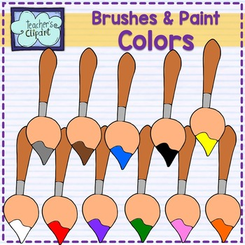 Brushes and Paint Clip art