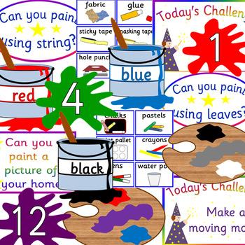 Art display teacher resource - creative/ craft- Expressive arts and design