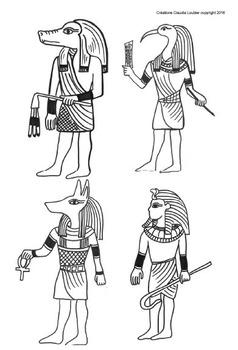 Art égyptien: Papyrus, projet d'arts plastiques