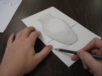 Art elements: Value Vase