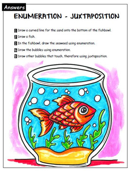 Art exercises for Grades 1 and 2. Visual Art. Language of Art.