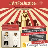 Art for Justice; High School Art Project, Distance Learnin