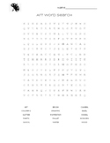 Art for Kids Word Search
