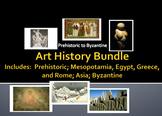 Art history: Prehistoric; Mesopotamia, Egypt, Greece, Rome