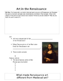 Art in the Renaissance Guided Notes