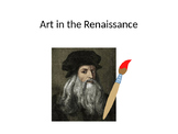 Art in the Renaissance Guided Notes PowerPoint