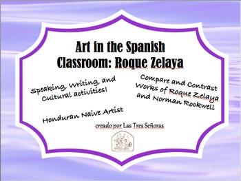 Art in the Spanish Classroom: Roque Zelaya