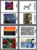 Art Elements -  Lines Task Cards & Matching Game (10 pages