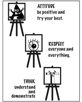 Art Posters ... 8 Art Room Mantras (8 Printable Posters)
