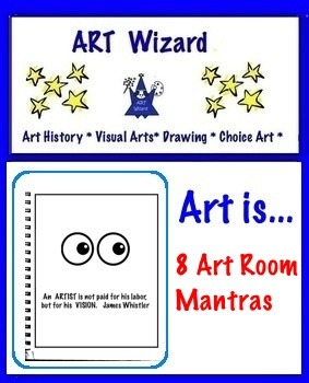Art Posters ... 8 Art Room Mantras (8 Printable Posters)