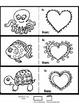 Art is ... 9 Animal Valentine's Day Cards - Ready to Color