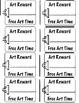 Art Class Awards - Coupons & Art Star Certificate (6 Printables)