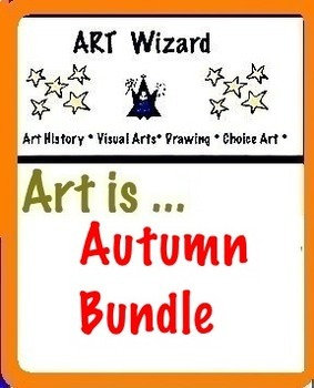 Art is ... Autumn Bundle (Coloring, Math, Designing) 16 pages