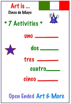 Cinco de Mayo - 7 Art Activities  K-5  Mexican Holiday