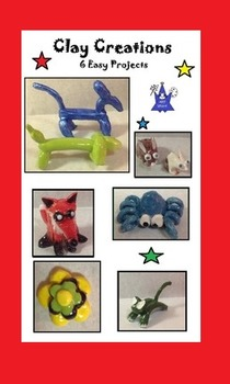 Art is ... Clay Creations (6 Easy to Make Clay Projects)