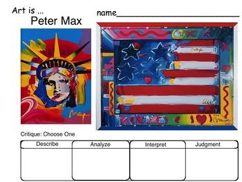 Art Critique of Patriotic USA Art (Britto, Max, Rodrigue, Scholder)