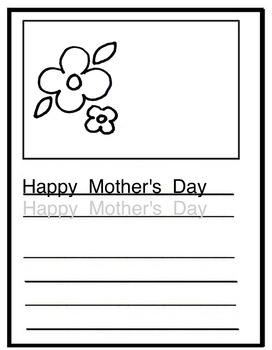 Drawing Writing Templates (Holidays)