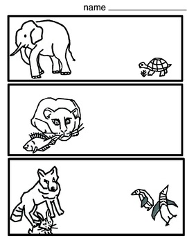 Endangered Animals Coloring 4 printables Art Lesson by