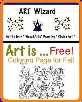 Art ... Pumpkin Time Coloring Page - Art