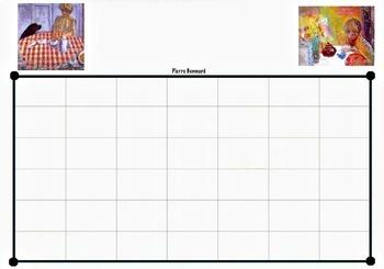 Art ...  Generic Art Monthly DIY Calendar (13 pages)