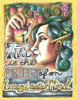 Art is Fruit poster