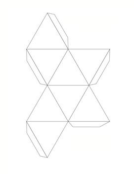 Geometric 3D Templates for Art  (15 Printables), Art Lesson