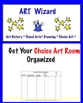 Art is ... Get Your Choice Art Room Organized! (5 Templates)