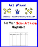 Get Your Choice Art Room Organized! (5 Templates)