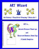Dinosaur Standups & Classroom Tags/Labels (12 Printables)