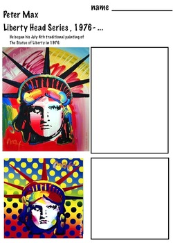 Peter Max - Mixed Media (8 pages) Pop Art Painting Art Artist