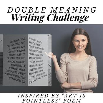 Art is Pointless- Break Apart Writing Lesson Plan