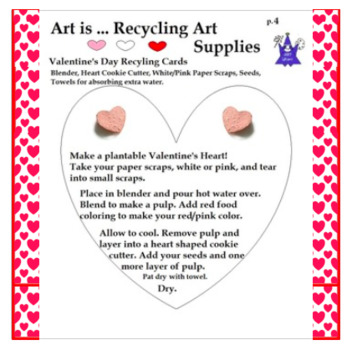 Art is ... Recycling Art Supplies (Recycled Seed Heart Pro