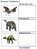 Storyboard for Writing Your Own Dinosaur Story (11 pages)