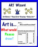 Art Quotes,Open Ended Picasso Quotes,Creativity, Famous Artist,(5 pg)